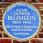 Alan Blumlein - GLC Blue Plaque