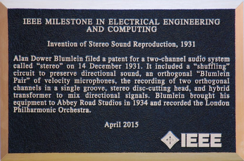 IEEE Milestone Award Plaque