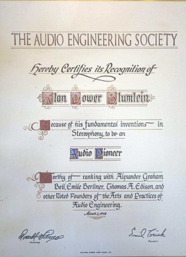 Audio Engineering Society - ADB Audio Pioneer